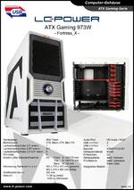 Datenblatt ATX-Gehäuse Gaming 973W Fortress_X