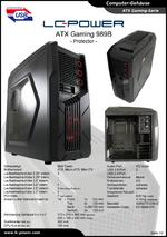 Datenblatt ATX-Gehäuse Gaming 989B Protector