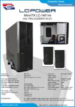 Datasheet Mini-ITX case LC-1401mi