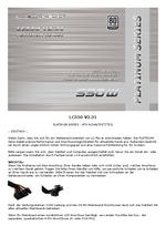 Anleitung Netzteil LC550 V2.31 Platinum