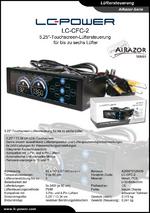 Datenblatt Lüftersteuerung LC-CFC-2