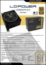 Datenblatt ATX-Netzteil LC6650GP4 V2.4