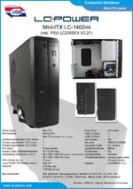 Datenblatt Mini-ITX-Gehäuse LC-1402mi