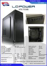 Datasheet ATX case 7038B