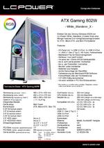 Datenblatt ATX-Gehäuse Gaming 802W White_Wanderer_X