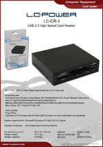 Datasheet card reader LC-CR-1