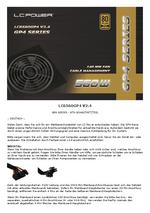 Anleitung Netzteil LC6560GP4 V2.4