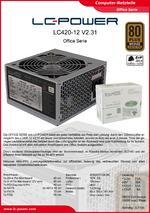 Datenblatt ATX-Netzteil LC420-12 V2.31