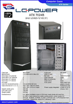 Datasheet ATX case 7024B with PSU LC420-12