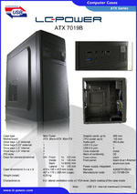 Datasheet ATX case 7019B