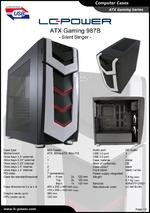 Datasheet ATX case Gaming 987B Silent Slinger