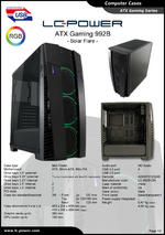 Datasheet ATX case Gaming 992B Solar Flare