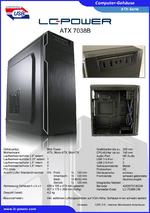 Datenblatt ATX-Gehäuse 7038B