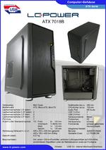 Datenblatt ATX-Gehäuse 7018B