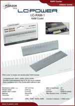 Datasheet RAM cooler LC-RAM-1