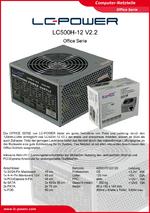 Datenblatt ATX-Netzteil LC500H-12 V2.2
