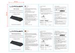 Anleitung USB-Hub LC-HUB-ALU-2B-10