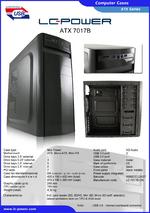 Datasheet ATX case 7017B