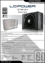 Datenblatt ATX-Netzteil LC1000 V2.4 Platinum