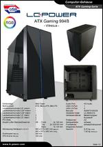 Datenblatt ATX-Gehäuse Gaming 994B Vitreous