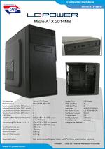 Datenblatt Micro-ATX-Gehäuse 2014MB