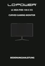 Anleitung Monitor LC-M24-FHD-144-C-V2