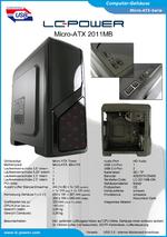 Datenblatt Micro-ATX-Gehäuse 2011MB