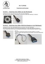 Anleitung Lüfter AR-F120RGB