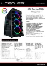 Datenblatt ATX-Gehäuse Gaming 709B Solar_System_X