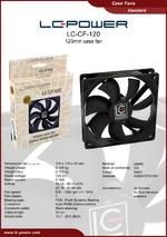 Datasheet 120 mm case fan LC-CF-120