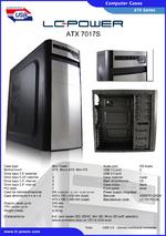 Datasheet ATX case 7017S