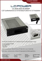 Datenblatt Laufwerkseinschub LC-ADA-525-35-SWAP