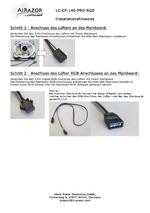Anleitung Lüfter LC-CF-140-PRO-RGB