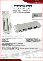 Datenblatt USB-Hub LC-HUB-C-MULTI-2S