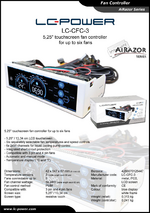 Datasheet fan speed controller LC-CFC-3