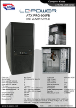 Datasheet ATX case PRO-906FB