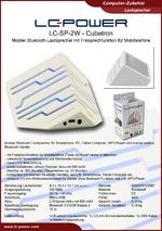 Datenblatt Lautsprecher LC-SP-2W Cubetron