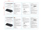 Manual USB hub LC-HUB-ALU-2B-7