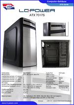 Datenblatt ATX-Gehäuse 7017S