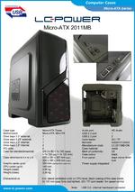 Datasheet Micro-ATX case 2011MB