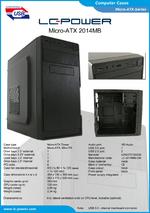 Datasheet Micro-ATX case 2014MB