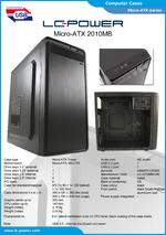 Datasheet Micro-ATX case 2010MB