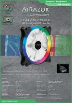 Datasheet 140 mm RGB case fan LC-CF-140-PRO-RGB
