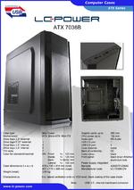 Datasheet ATX case 7036B