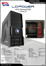 Datasheet ATX case Gaming 973B Fortress_X