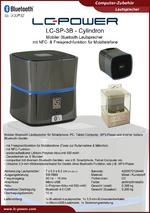 Datenblatt Lautsprecher LC-SP-3B Cylindron