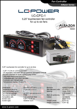 Datasheet fan speed controller LC-CFC-1