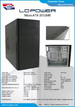 Datasheet Micro-ATX case 2012MB