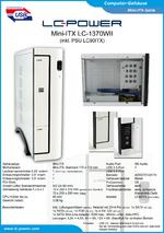 Datenblatt Mini-ITX-Gehäuse LC-1370WII