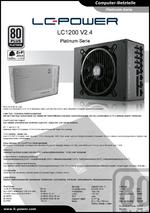 Datenblatt ATX-Netzteil LC1200 V2.4 Platinum